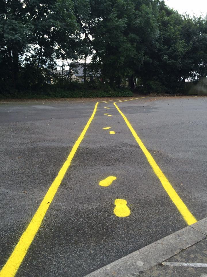 PTFA yellow brick road