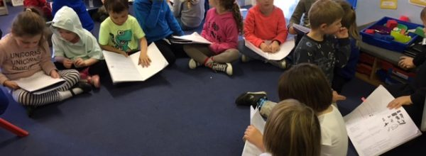 Class 2 Pirate Story writing
