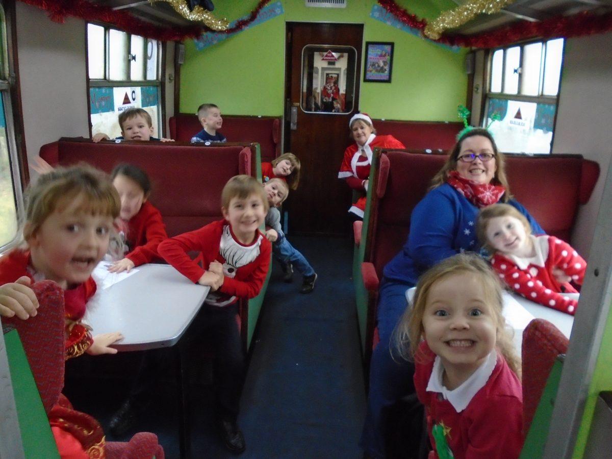 Reception Class Santa Special