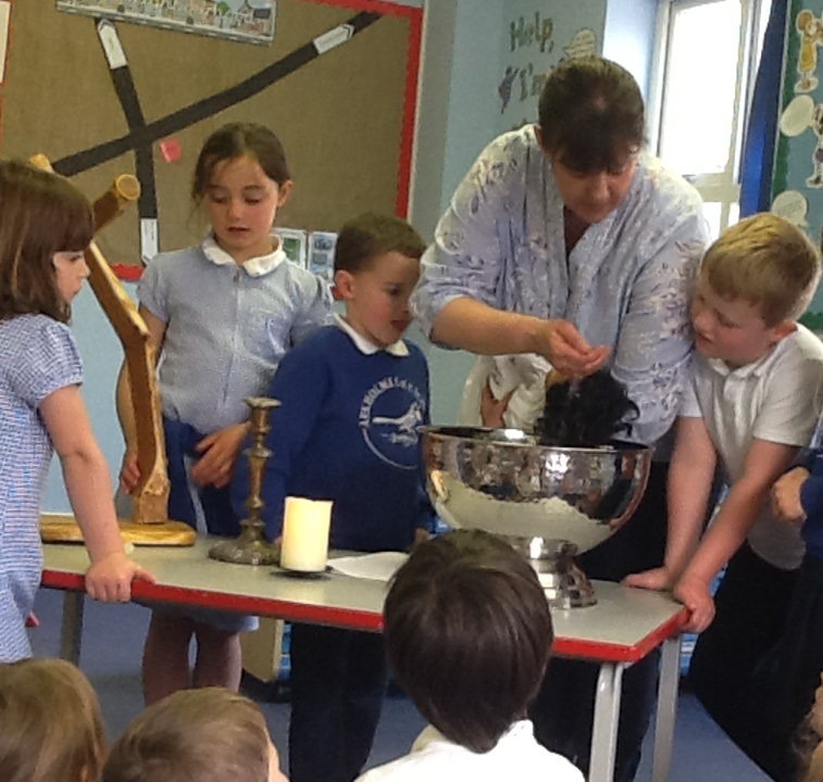 Class 2 and EYFS Baptism Lesson