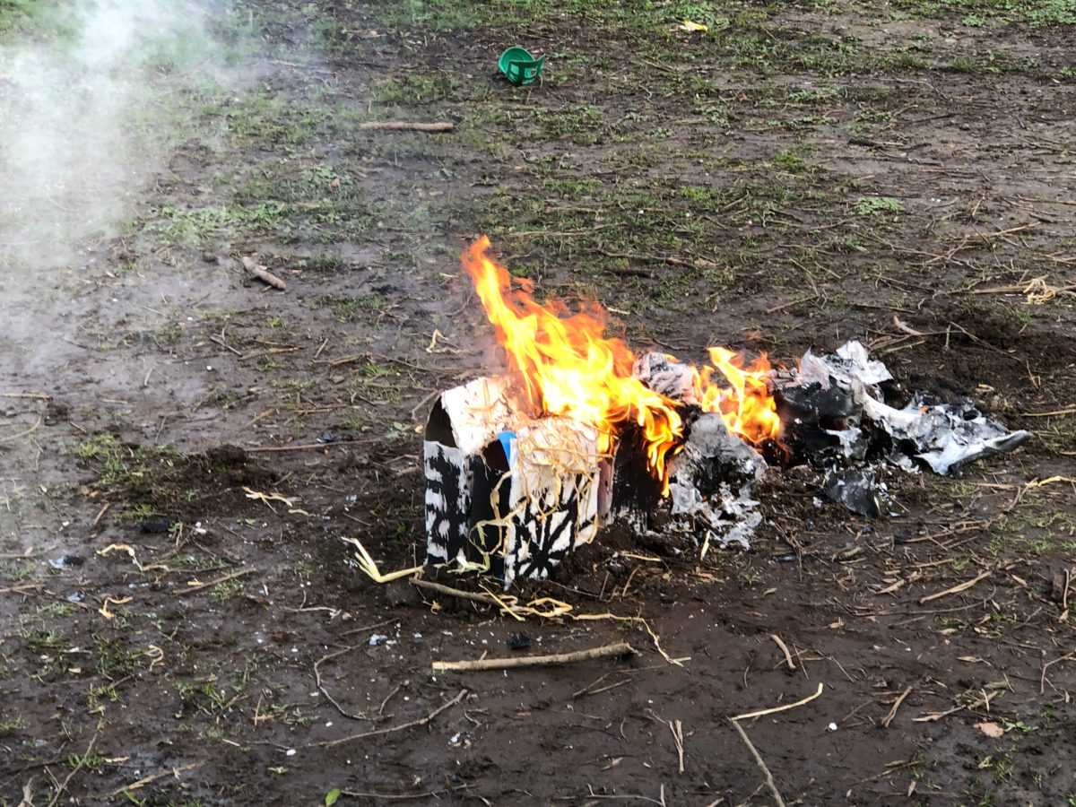 The Great Fire Of Arkholme