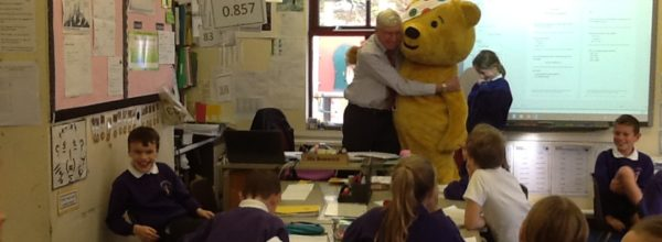 Our visit from Pudsey